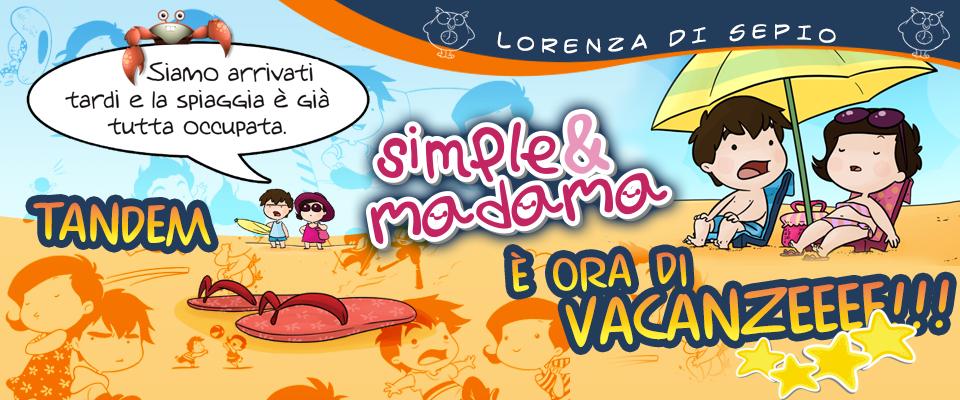 Simple&Madama sono pronti per le vacanze estive!