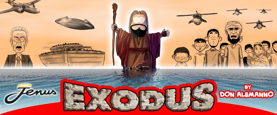 Jenus sbarca a Lampedusa ed è Exodus