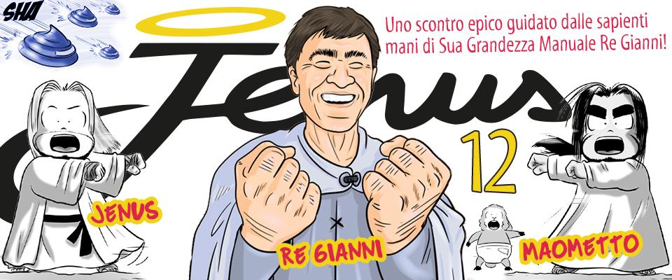 Jenus: Gianni Morandi contro i troll della rete!