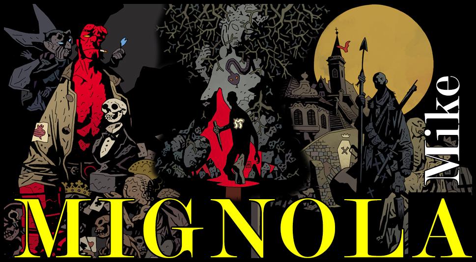 Mike Mignola, il creatore di Hellboy!